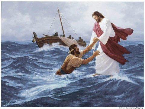 Pietro salvato dalle acque