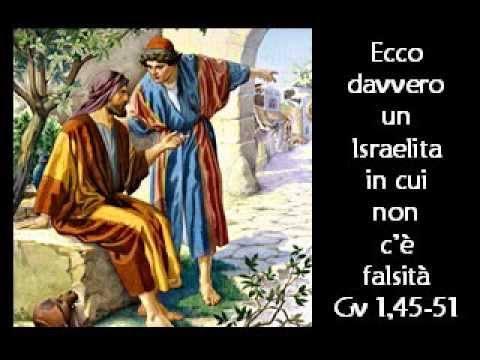 Gv 1,47-51)