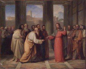 I discepoli di Giovanni e dei farisei digiunano;
