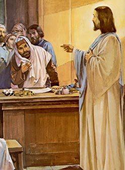 Mt 9,9-13 Gesù, vide un uomo, chiamato Matteo