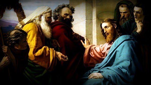 Lc 20,27¬-40  ALLA RISURREZIONE, DI CHI SARÀ MOGLIE
