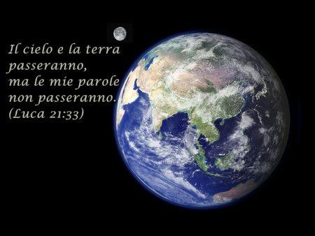 Lc 21,29-33   Il cielo e la terra passeranno